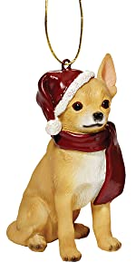 Christmas Ornaments - Xmas Chihuahua Holiday Dog Ornaments