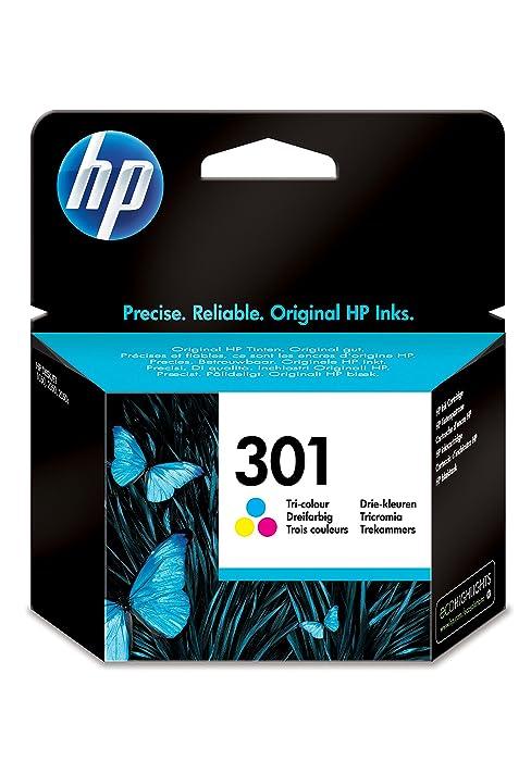 Hp N9j72ae 301 Original Tintenpatronen Schwarz Und Dreifarbig 2er Pack Bürobedarf Schreibwaren