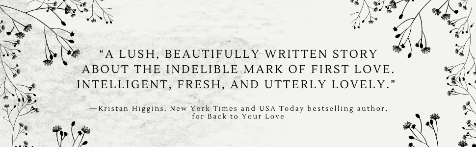 """""""...story about the indelible mark of first love. Intelligent, fresh, and utterly lovely."""""""