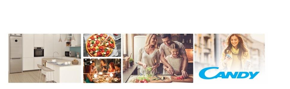 Candy CMXG 25DCW Microondas con Grill y Cook In App, 40 Programas ...