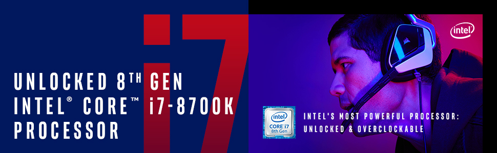 8th gen Intel Core i7-8700K processor BX80684I78700