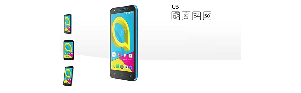 Alcatel U5 4G (4 núcleos, 8MPx, 8Gb, Dual SIM)