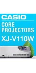 Casio XJ-V110W 079767468835 Laser LED Home projector school business classroom HDMI WXGA LUmens