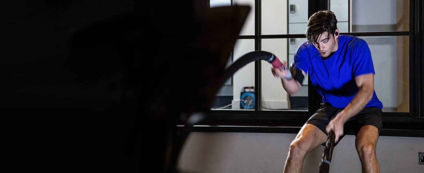 Jabra Elite Sport True Wireless Waterproof Fitness Running Earbuds with Heart Rate Activity Tracker