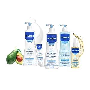 Mustela, baby shampoo, baby wash, tear free, hypoallergenic, new baby, skin care, skincare