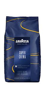 Lavazza, super, crema, espresso, coffee