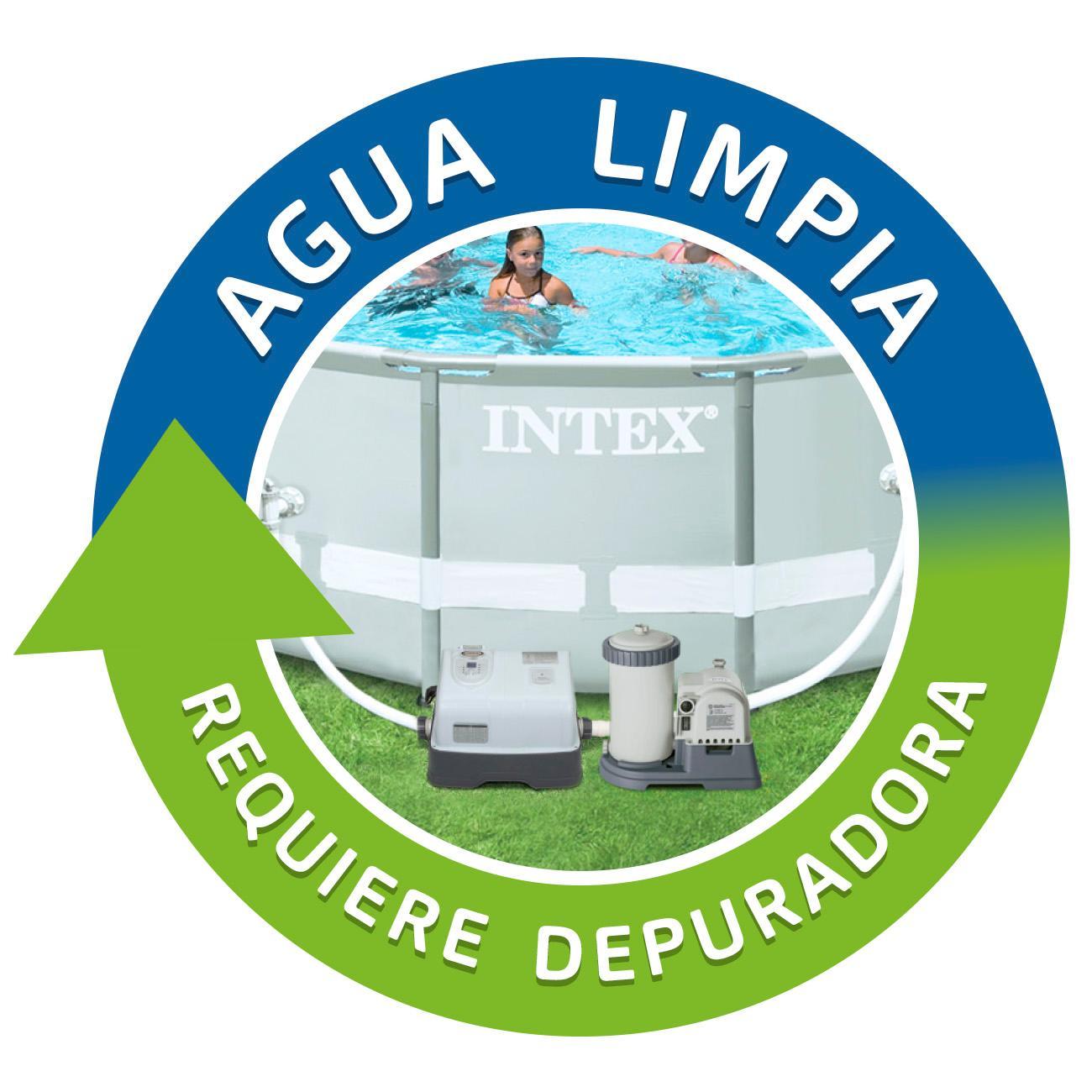 Intex sistema cloracion salina eco 11 gr hora y ozono 150 for Ozono para piscinas