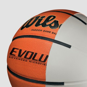 wilson; evolution basketball; evolution game ball; basketball; official basketball; youth basketball