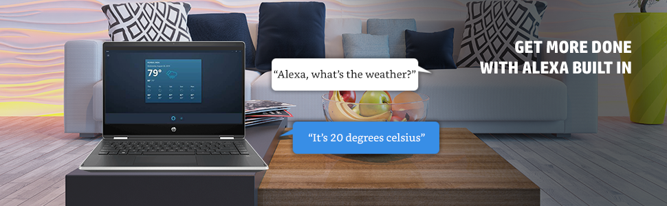 Laptops with Alexa