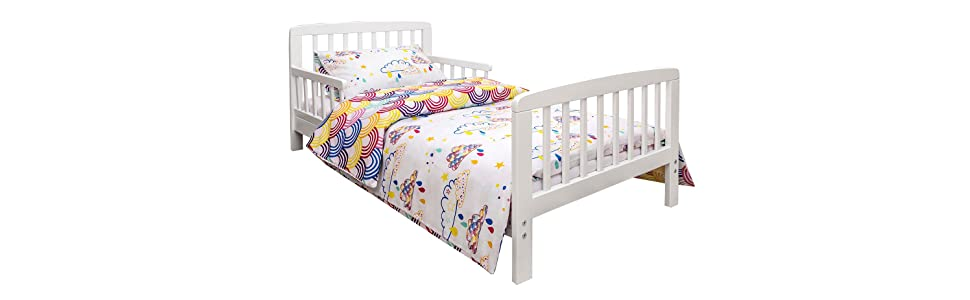 Kinder Valley 7pc Toddler Bed Bundle