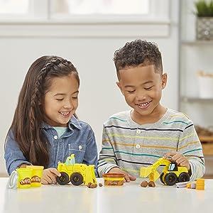 play-doh excavator toy