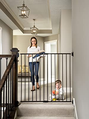 tall stairs gate