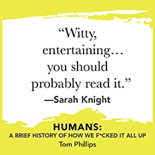 """""""Witty, entertaining...you should probably read it.""""-Sarah Knight"""