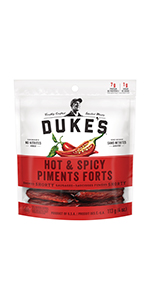 Duke's, Smoked, Shorty, Sausages, Spicy