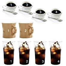 ホットコーヒーなら一度に4杯OK