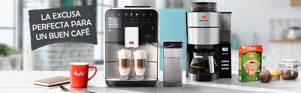 Melitta Cafetera de filtro con jarra isotérmica, Easy Therm, Negro, 1010-06: Amazon.es: Hogar