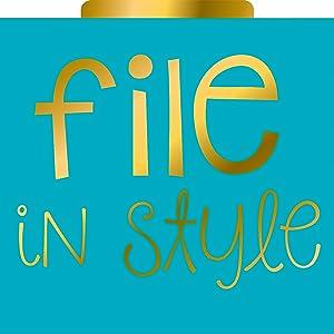 File in style folder
