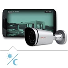 Foscam FI9900P - нощно виждане