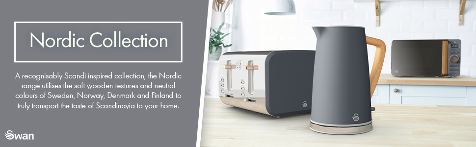 Swan Nordic Microwave collection