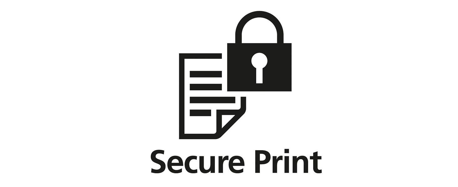 Secure print, secure printer, mf733, mf733Cdw, mf733 secure print