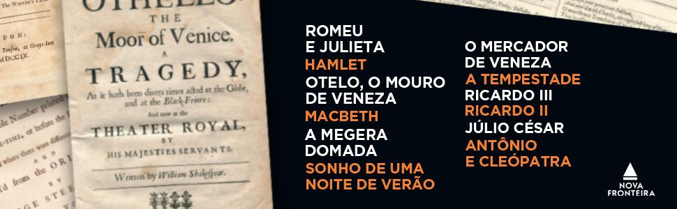 Shakespeare, Romeu e Julieta, Hamlet