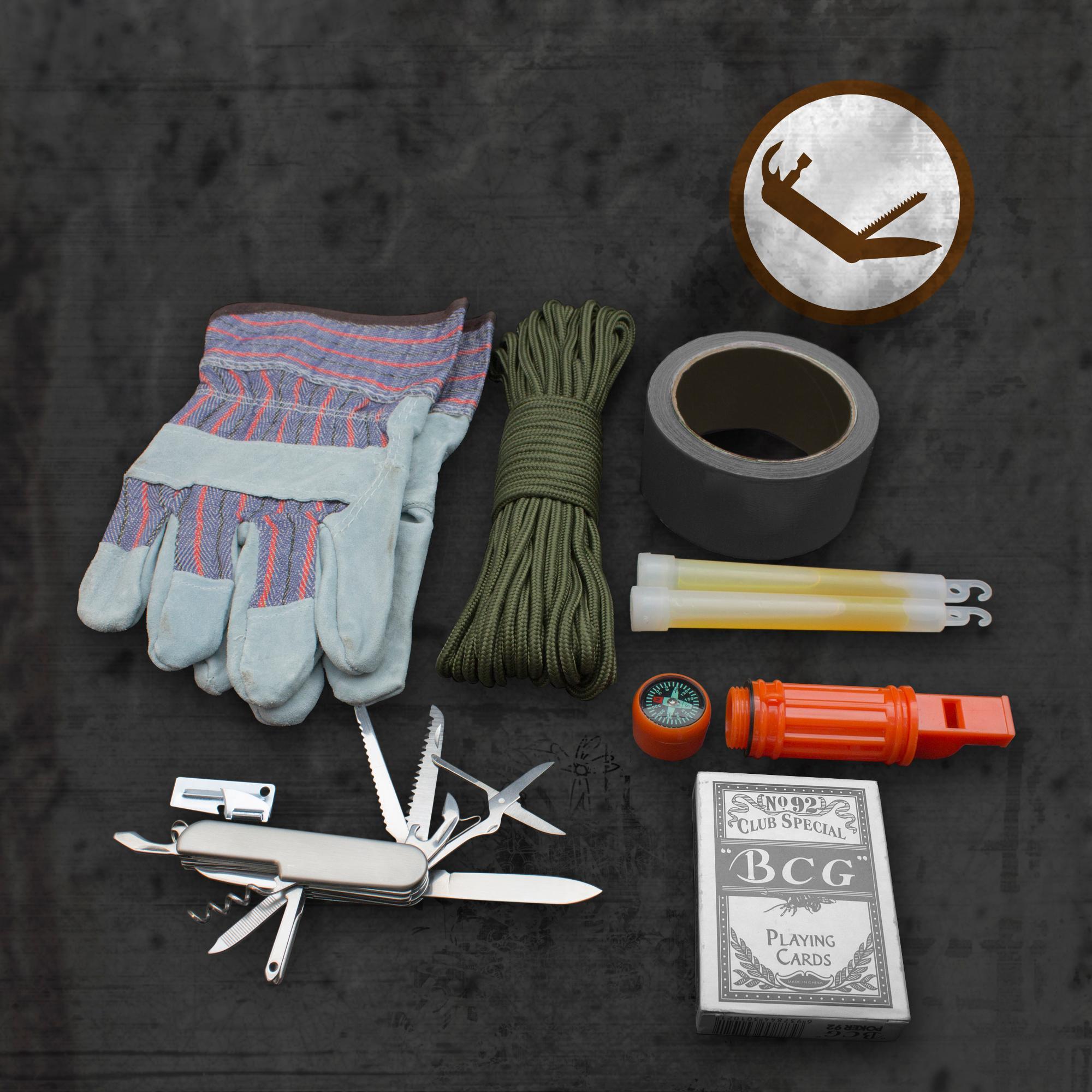 Shtf Emergency Preparedness: Emergency Zone 840-2 Urban Survival Bug Out Bag Emergency