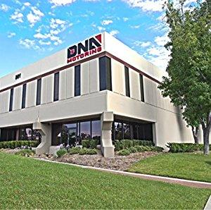 DNA Motoring WVS-202 4pcs Dark Smoke Vent Window Visor Deflector Rain//Sun Guard