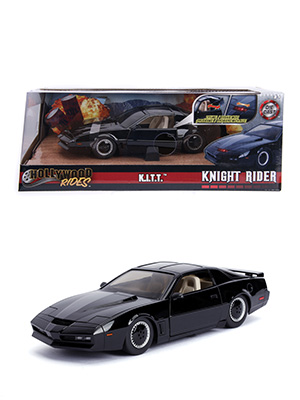 Hollywood Rides Metals Die Cast Knight Rider K.I.T.T KITT Pontiac Trans-Am Die-Cast
