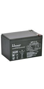 Bateria  AGM 12Ah 12V