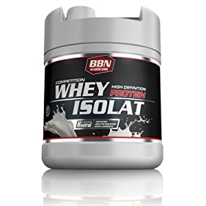 BBN Hardcore - Competition Whey Isolat in der 1900 g Dose
