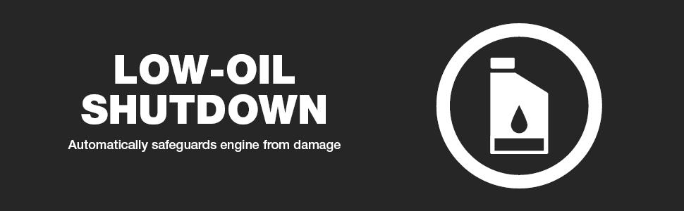 low oil shutdown, safeguard