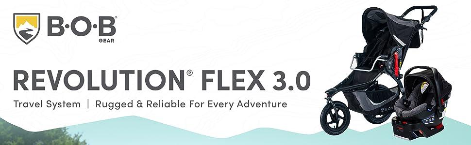 BOB Gear Flex 3.0 Travel System - Header