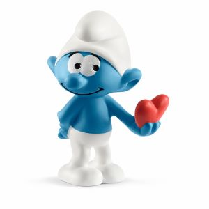 the smurfs, valentines day, smurf party decorations, smurf party favors, smurfette, papa smurf