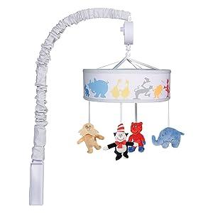 Dr. Seuss musical mobile, dr seuss mobile, dr seuss crib mobile