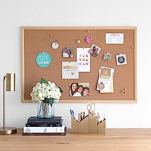 u brands, cork board, cork bulletin board, cork boards, cork board bulletin board