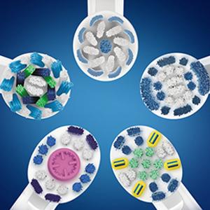 Cabezales diseñados en colaboración con dentistas para Oral-B Pro 750 CrossAction