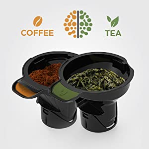 Ninja Hot and Cold Brewed System, Auto-iQ Tea and Coffee Maker with 6 Brew Sizes, 5 Brew Styles, Frother, Coffee & Tea Baskets with Thermal Carafe ...