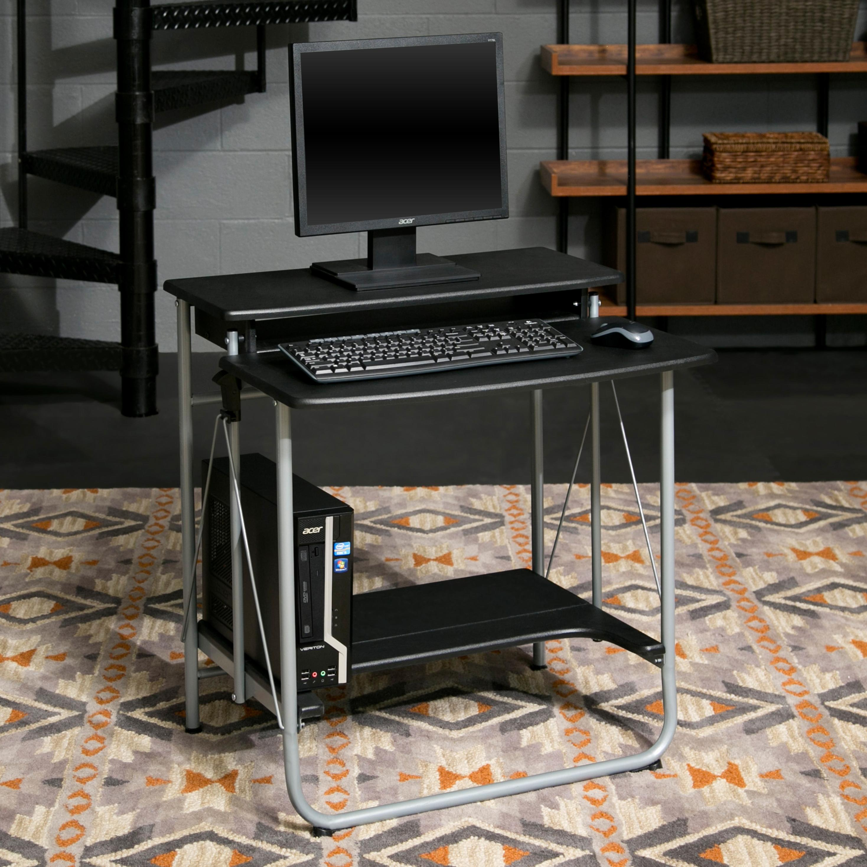 Comfort products freeley folding computer desk for Abc salon equipment
