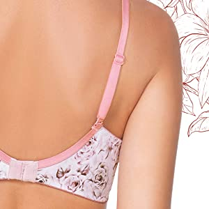 amante padded non wired bra