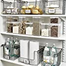 idesign classico storage baskets