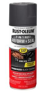 rust reformer and seal undercoating aerosol spray