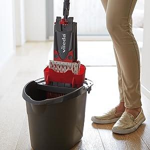 how to change vileda flat mop head