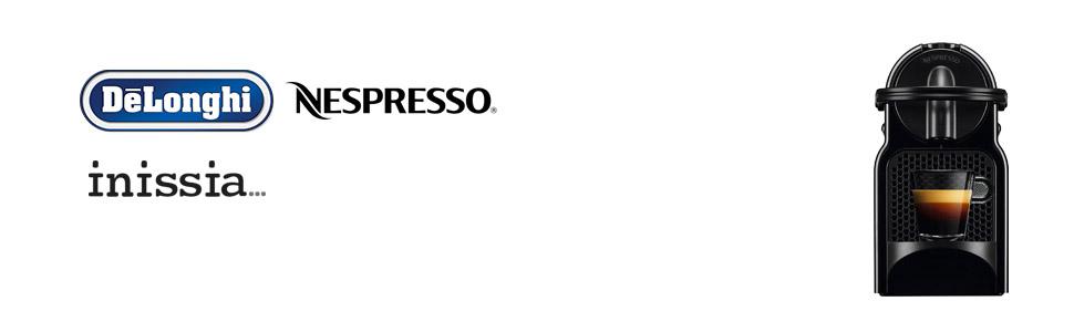 DeLonghi Nespresso; Inissia; Pod Coffee Machine; EN80BAE;