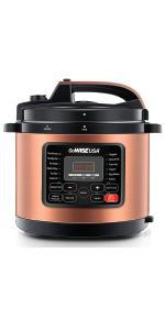 pressure cooker copper