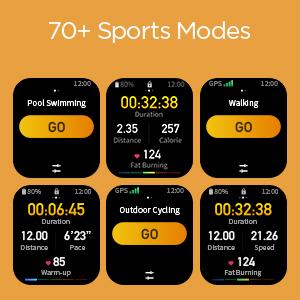70+ Sports Mode