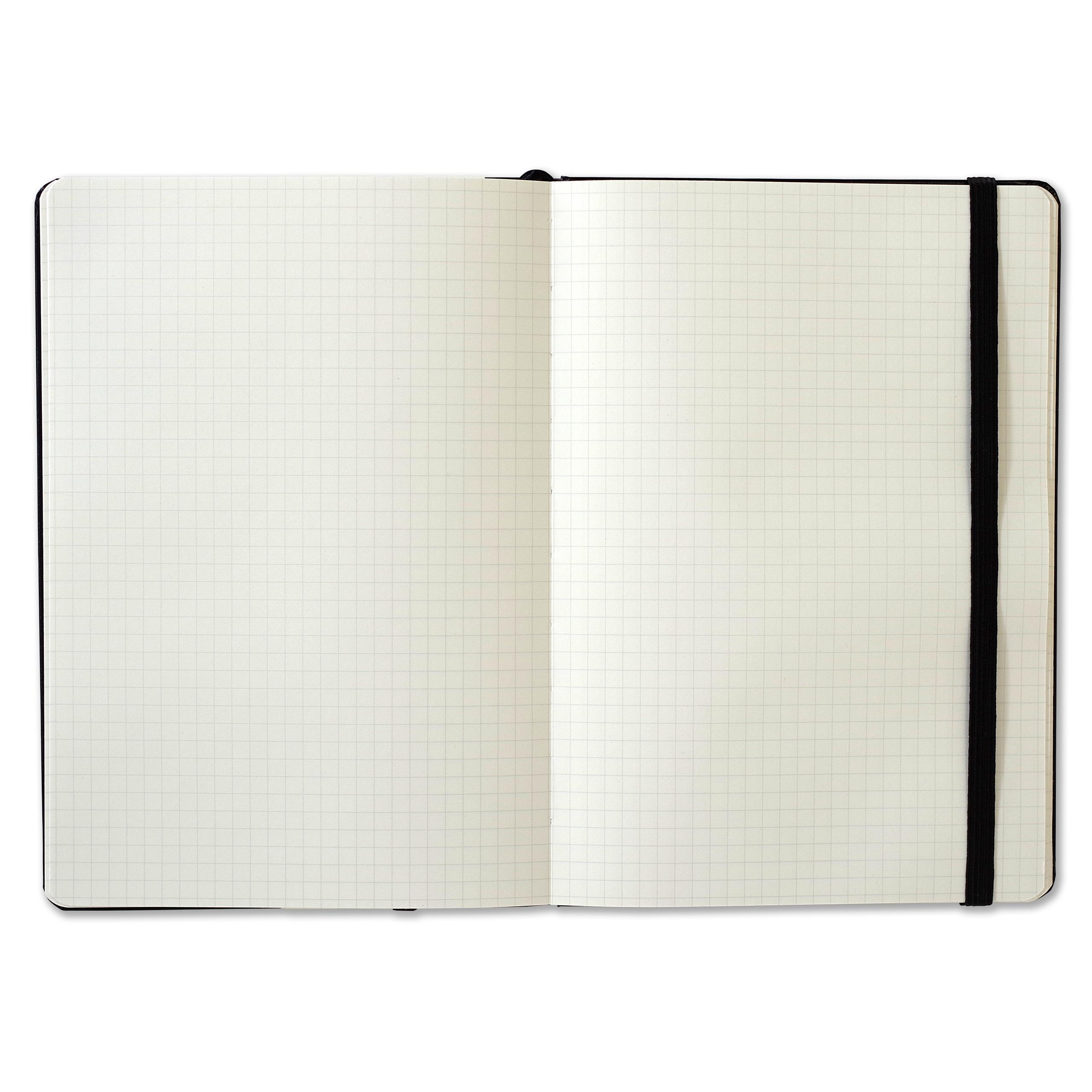 Essentials Grid-lined Notebook, Large, A5 Size (Journal ...