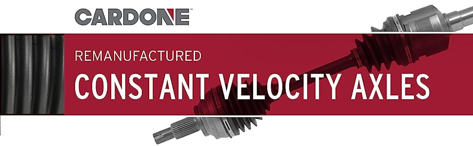 Reman Constant Velocity Axles