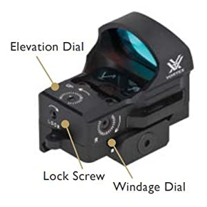 Amazoncom Vortex Optics Razor Red Dot Sight 3 Moa Dot Rifle