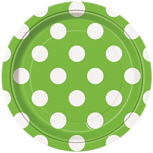 Lime Green Polka Dot Paper Plates 8ct · Lime Green Polka Dot Paper Cake Plates 8ct · Lime Green Polka Dot Paper Napkins 16ct · Lime Green Polka Dot ...  sc 1 st  Amazon.com & Amazon.com: Lime Green Polka Dot Paper Plates 8ct: Kitchen u0026 Dining