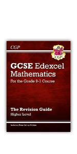 Grade 9-1 GCSE Edexcel Maths Revision Guide from CGP